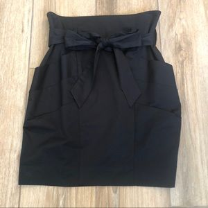 {BCBGMaxAzria} High Waisted Skirt With Pockets